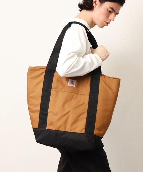 GO OUT 2021年9月号 掲載【 carhartt / カーハート 】 Insulated Convertible Backpack Tote  CC4403  クーラー トートバッグ