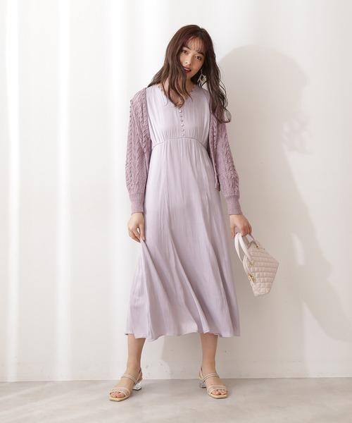 PROPORTION BODY DRESSING(プロポーションボディドレッシング)の「<E>レース編みカーディガン / 1211177300(カーディガン/ボレロ)」|詳細画像