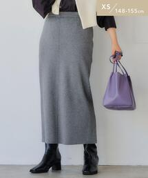 【WEB限定】[ XS /H148-155�p]ニット タイト スカート