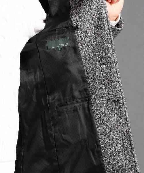 MONSIEUR NICOLE(ムッシュニコル)の「スタンドカラーコート(ステンカラーコート)」 詳細画像