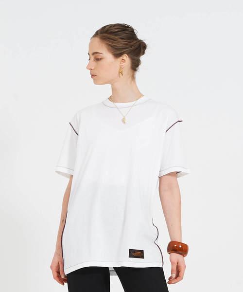 THEATRE PRODUCTS(シアタープロダクツ)の「ベーシック天竺 Tシャツ(Tシャツ/カットソー)」 ホワイト