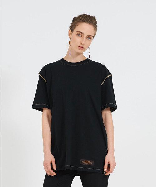 THEATRE PRODUCTS(シアタープロダクツ)の「ベーシック天竺 Tシャツ(Tシャツ/カットソー)」 ブラック