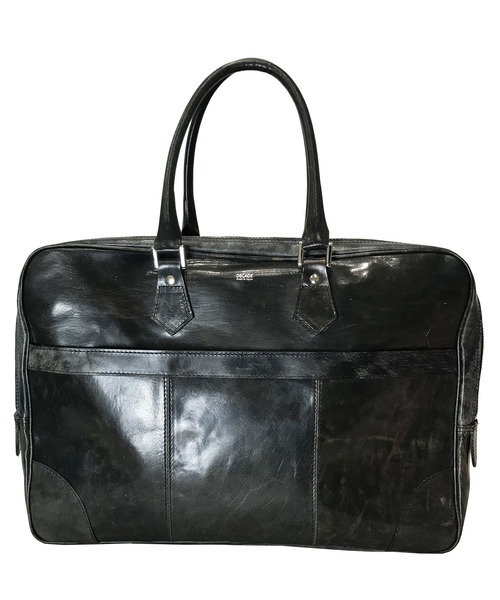 DECADE(ディケイド)の「アンティックホースレザー・ブリーフバッグ DECADE(No-01050) ビジネス Antique Horse Leather Brief Bag(ビジネスバッグ)」|ブラック