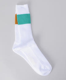 <H>84N H/PANEL RIB REG SOCKS/ソックス