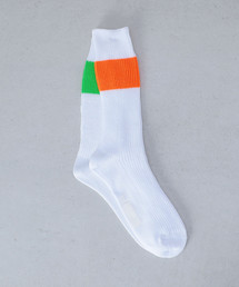 <H>84N H/PANEL RIB REG SOCKS/ソックス: