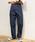 kutir(クティール)の「【低身長向けXSサイズあり】ハイウエストストレートデニムパンツ(デニムパンツ)」|インディゴブルー