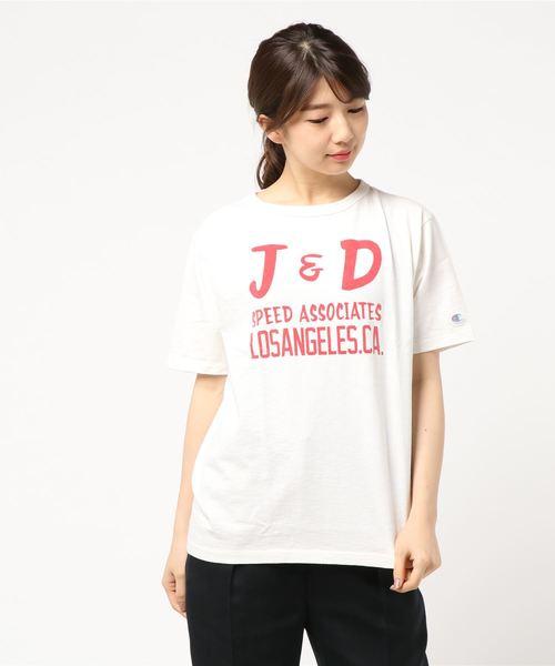 championロゴTシャツ