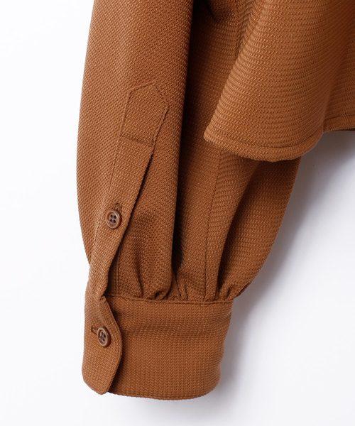 EFILEVOL エフィレボル / Layered Shirt レイヤードシャツ / SHM-SH03
