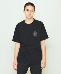 GENERAL_INDEX × UNITED ARROWS & SONS BLACK TEE