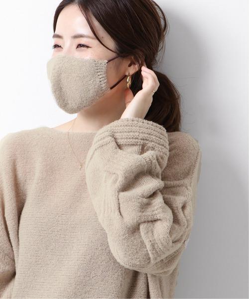 PUFF MIX ニットプルオーバー(マスク付き)◆