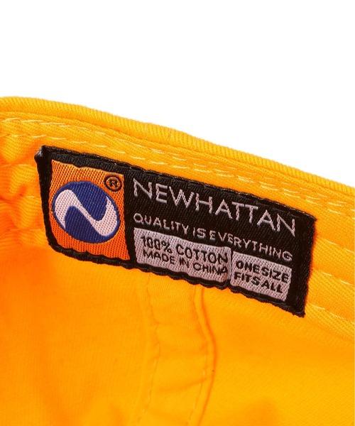 newhattan(ニューハッタン)の「NEWHATTAN/ニューハッタン/《WEB限定》ベースボールキャップ/Baseball LowCap(キャップ)」|詳細画像