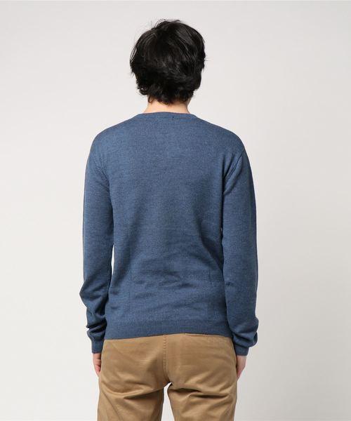【LeMonstMichel】フロント刺繍セーター