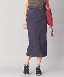 COLONY 2139(コロニートゥーワンスリーナイン)の中空デニムタイトスカート(スカート)