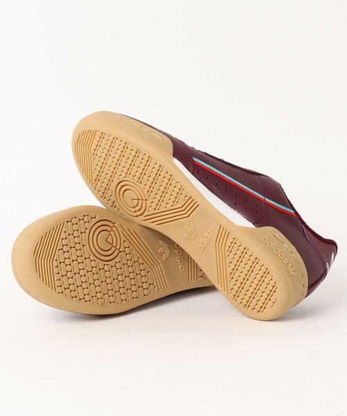 adidas Originals CONTINENTAL 80 MAROON/SCARLET/HI-RES AQUA 18FW-I