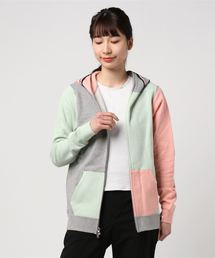 PASTEL CRAZY SHARK FULL ZIP HOODIE L(パーカー)
