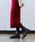 Fashion Letter(ファッションレター)の「リブニット ロングキャミワンピース(サロペット/オーバーオール)」|詳細画像