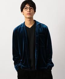 ■■■[ブルーチップ] ST★BLUECHIP VELVET シャツ ◆