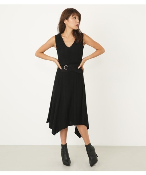 c03339883dcdc5 MIX Pattern Knit OP(ワンピース)|rienda(リエンダ)のファッション ...