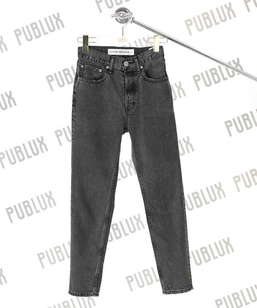 激安な 【セール】【GOOD MOTIVE/グットモーティブ】Hi-rise セール,SALE,PUBLUX Skinny/ハイライズスキニーデニムパンツ(スリムパンツ)(デニムパンツ)|PUBLUX(パブリュクス)のファッション通販, 勝浦町:6689f64f --- arguciaweb.com