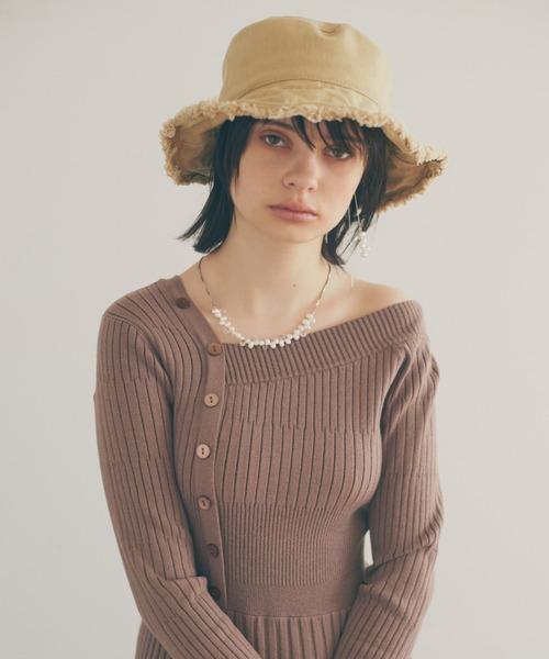 LAYMEE(レイミー)の「Floren long necklace / フローレンロングイヤリング(イヤリング)」 詳細画像