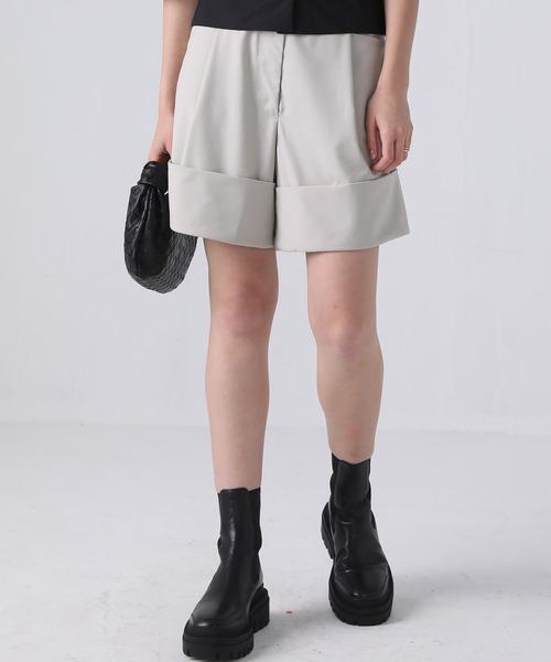 【chuclla】【2021/SS】Double hem short pants sb-4 chw1410