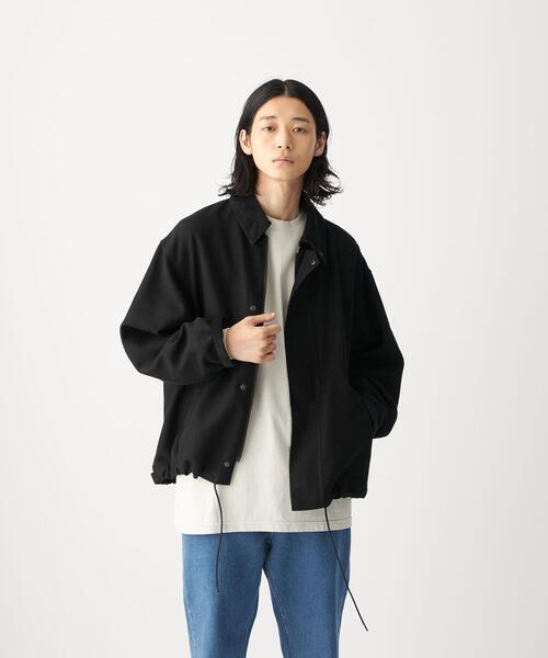 <CITEN(シテン)>モールスキン バルーン ジャケット