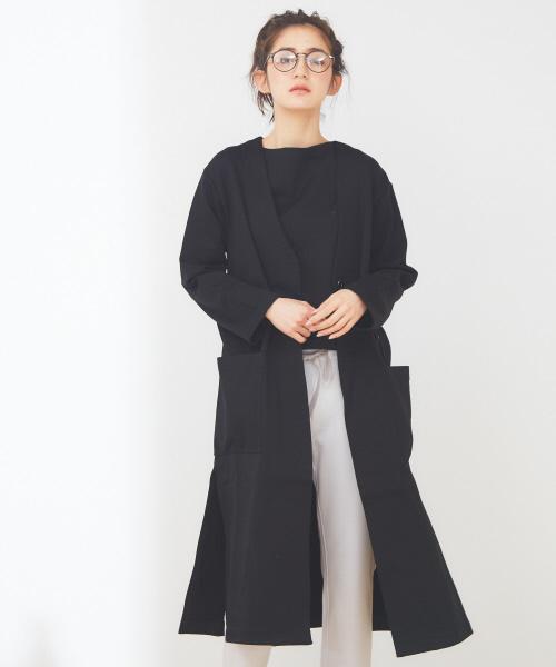 collex 裏毛ロングコート