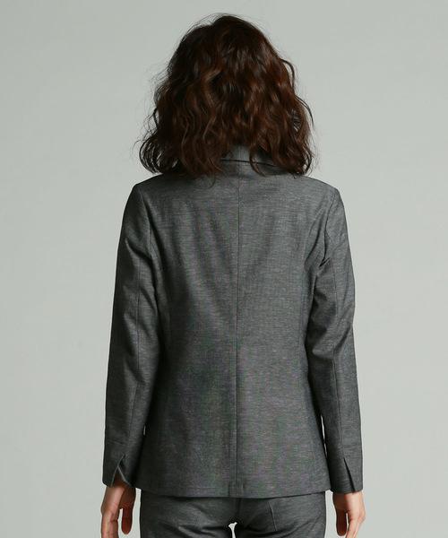 《ラエフ定番アイテム【極】シリーズ》シェルタリングドライオックステーラードジャケット