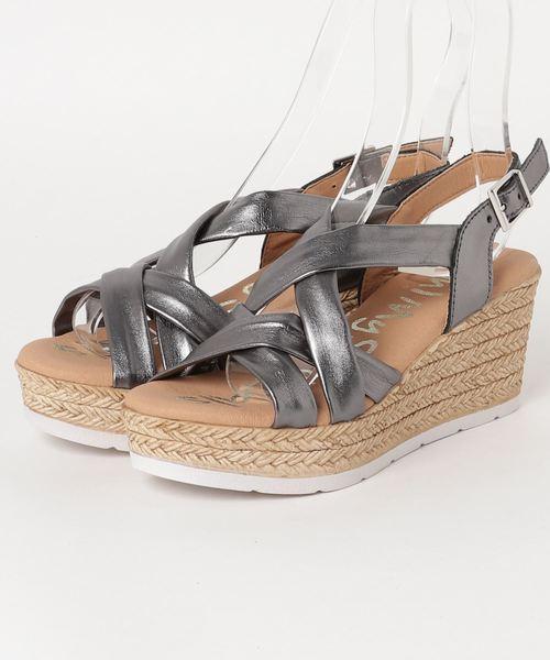 値段が激安 【Oh!My Sandals】メタリッククロスストラップサンダル(サンダル) Desert Rose(デザートローズ)のファッション通販, サイタマシ:255cb777 --- dpu.kalbarprov.go.id