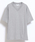 10 by juha stable garments(テンバイユハ ステーブルガーメンツ)の「DOUBLE BINDER V-NECK TEE(Tシャツ/カットソー)」|グレー
