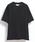 10 by juha stable garments(テンバイユハ ステーブルガーメンツ)の「DOUBLE BINDER V-NECK TEE(Tシャツ/カットソー)」|ブラック