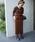 COOMB(クーム)の「ベルベットロングタイトスカート(スカート)」|詳細画像