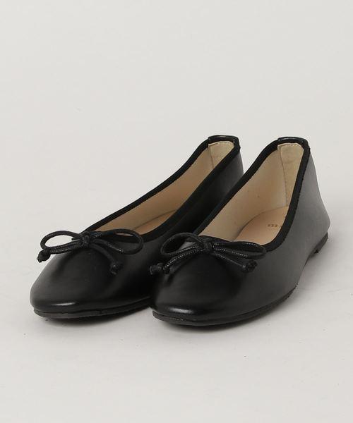 minia(ミニア)の「minia /  超軽量バレーシューズ(バレエシューズ)」|ブラック
