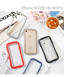 iFace(アイフェイス)のiPhone 8 ケース iPhoen7 ケース iFace 透明 Reflection 強化ガラス クリアケース(モバイルケース/カバー)