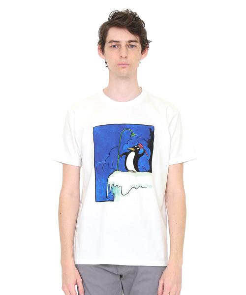 コラボレーションTシャツ/ノースポール(トミーウンゲラー)