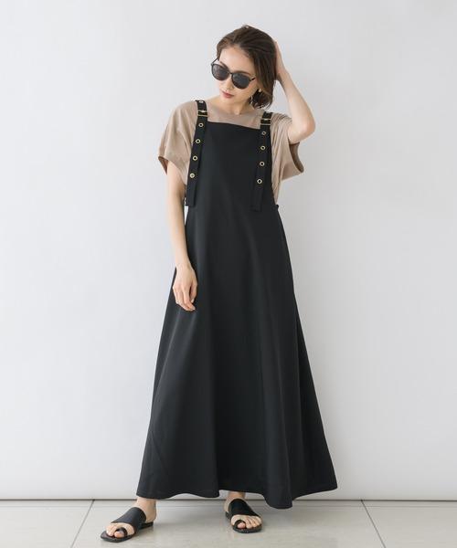 【KATHARINE ROSS】margaux フレアジャンパースカート