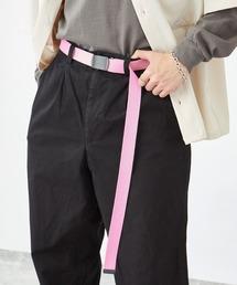カラーリングロングガチャベルト(MONO-MART)ピンク