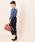 ViS(ビス)の「【MACHINE WASHABLE】【前後2WAY】ショート丈ドルマンプルオーバー(ニット/セーター)」|詳細画像