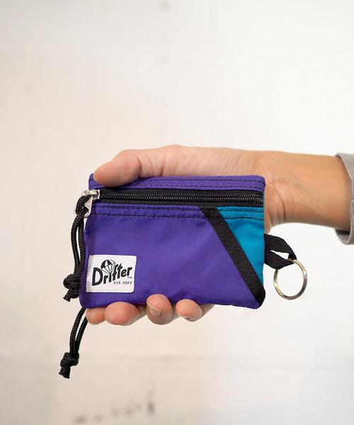 Drifter(ドリフター)の「KEY COIN POUCH/キーコインポーチ(コインケース/札入れ)」 パープル