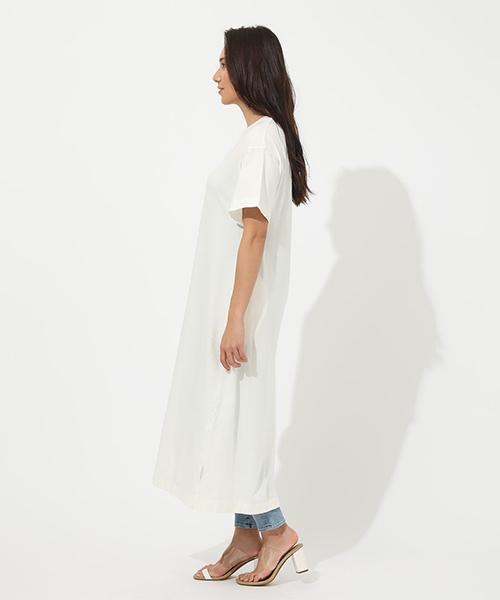 HALF SLEEVE T/DRESS / ハーフスリーブTドレス