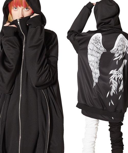 雑誌で紹介された 折れた翼ダブルフロントパーカー -スーパービッグ-(パーカー)|ankoROCK(アンコロック)のファッション通販, 宮崎県:9ef7a88a --- fahrservice-fischer.de