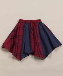 hakka kids(ハッカキッズ)の[ジュニアサイズ・セットアップ対応]フレアチェックスカート(スカート)