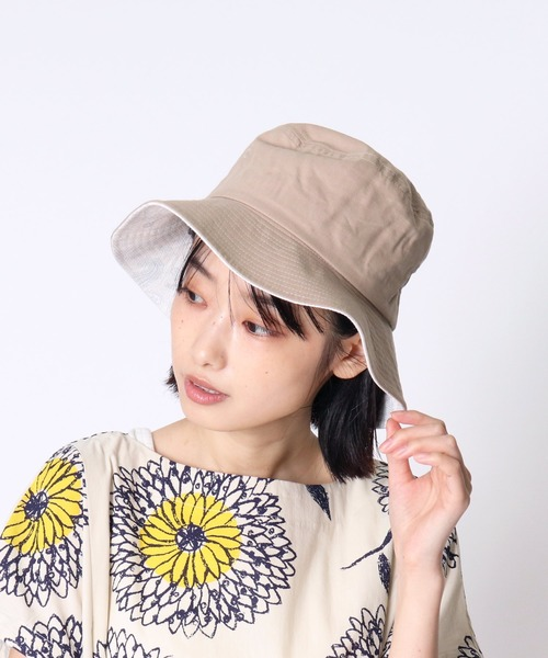▽ ST:UV LONG BRIM BUCKET バケットハット