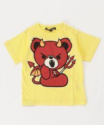 DEVIL BEAR Tシャツイエロー