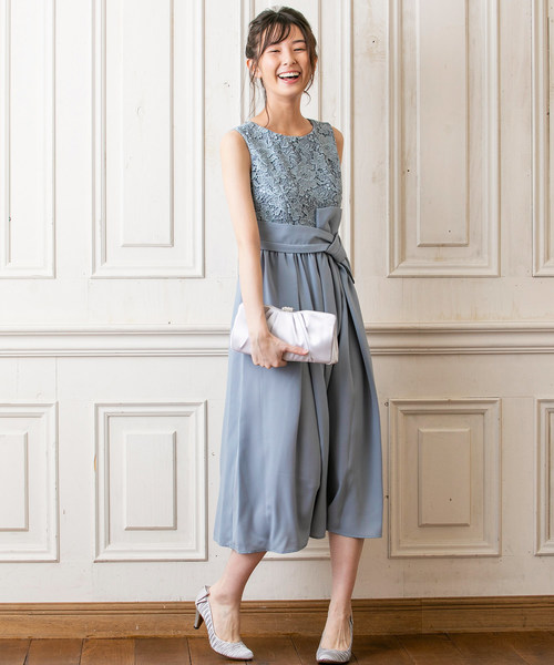 憧れ forma,フォルムウェストリボンフラワーレースセミロングワンピース(ドレス)|form forma(フォルムフォルマ)のファッション通販, エコペイント:7871bc22 --- blog.buypower.ng