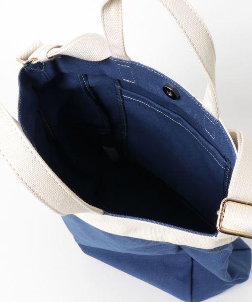 PASSE-DIX/パスディス 倉敷帆布カラフル2WAYショルダーバッグ