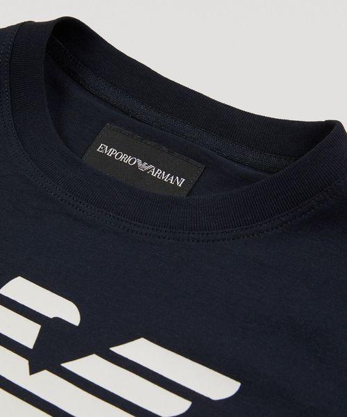 【エンポリオ アルマーニ】イーグルロゴ半袖Tシャツ