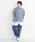 merlot(メルロー)の「ストライプ柄デニムジャケット3101(デニムジャケット)」|詳細画像