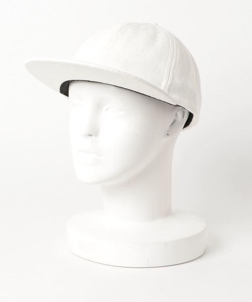 crepuscule(クレプスキュール)の「【crepuscule】クレプスキュール B.B CAP fridge別注(キャップ)」|ホワイト