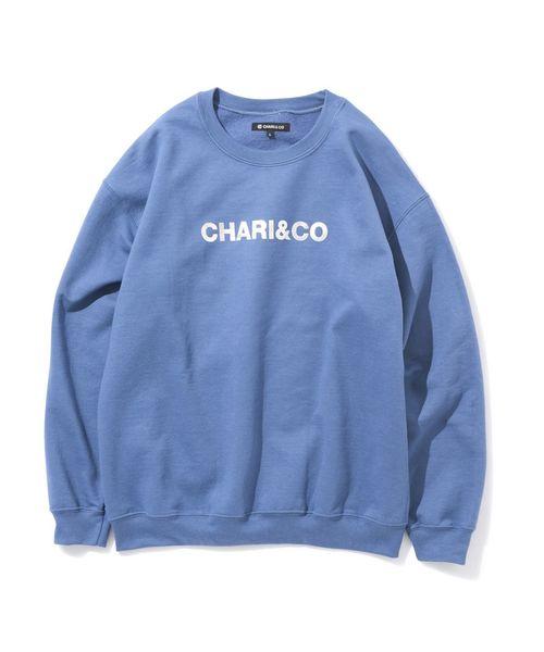 【ファッション通販】 CHARI&CO BOLD LOGO CREWNECK SWEATS スウェット, ケンコーコム f5a3d39a